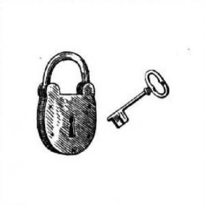 Замок, ключ