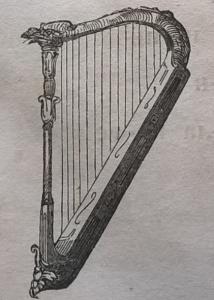 Арфа, музыкальный инструмент