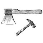 Топор, молоток