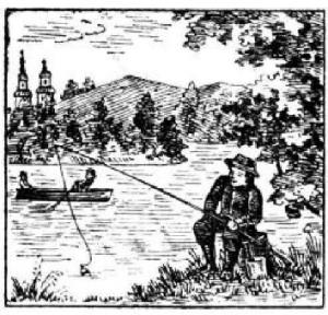 Мужчина, рыбак, рыбалка