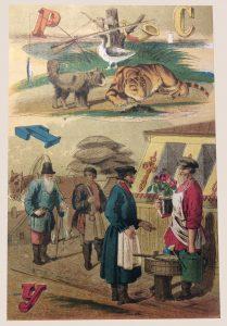 Животные, люди, тигр