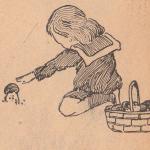Ребенок, гриб